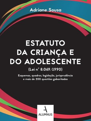cover image of Estatuto da Criança e do Adolescente