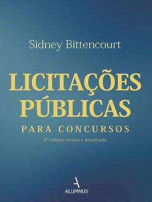 cover image of Licitações públicas para concursos