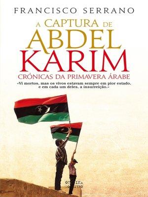 cover image of A Captura de Abdel Karim