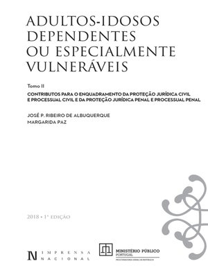 cover image of Adultos--Idosos Dependentes ou Especialmente Vulneráveis--Volume II