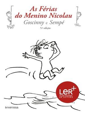 cover image of As Férias do Menino Nicolau (nv)