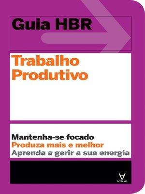 cover image of Trabalho produtivo