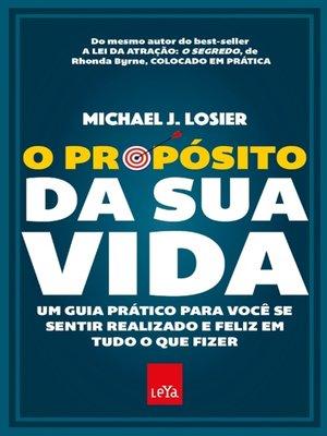 cover image of O propósito da sua vida