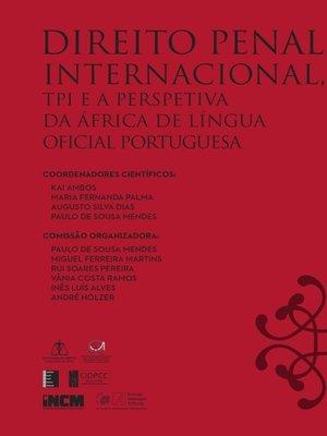 cover image of Direito Penal Internacional