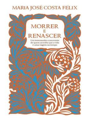 cover image of Morrer e Renascer