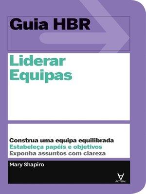 cover image of Liderar Equipas