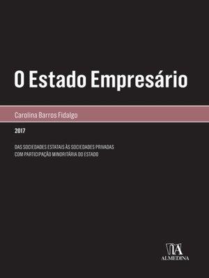 cover image of O Estado Empresário