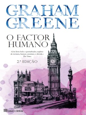 cover image of O Factor Humano