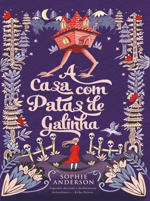 cover image of A Casa Com Patas de Galinha