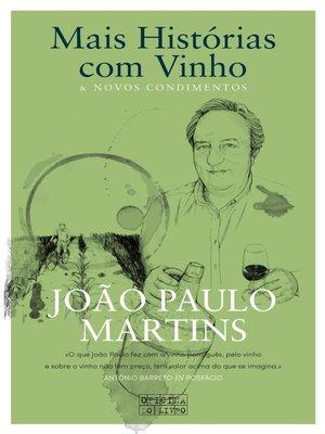 cover image of Mais Histórias com vinho e novos condimentos