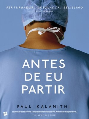 cover image of Antes de Eu Partir