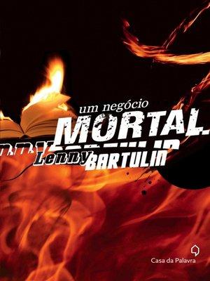 cover image of Um Negócio Mortal