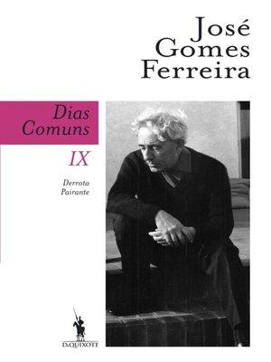 cover image of Dias Comuns IX. Derrota Pairante
