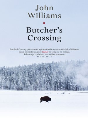 cover image of Butcher?s Crossing