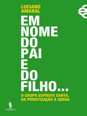 cover image of Em Nome do Pai e do Filho