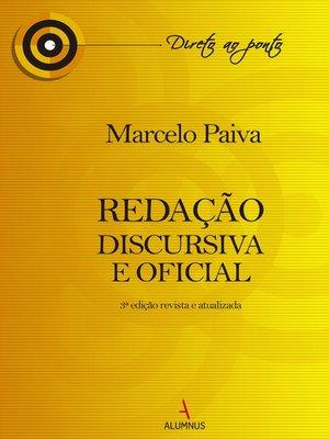 cover image of Redação Discursiva e Oficial--3ª Edição