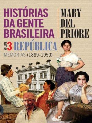 cover image of Histórias da gente brasileira