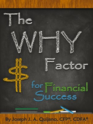 cover image of The Why Factor for Financial Success