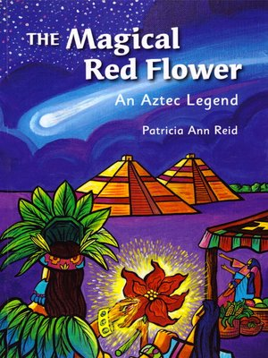 cover image of The Magical Red Flower