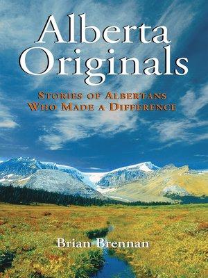 cover image of Alberta Originals