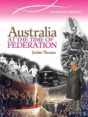 cover image of Australia at the Time of Federation