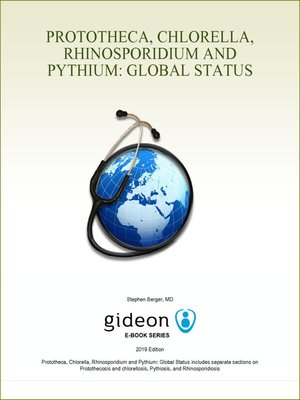 cover image of Prototheca, Chlorella, Rhinosporidium and Pythium: Global Status