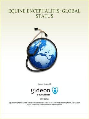 cover image of Equine encephalitis: Global Status