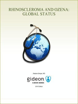 cover image of Rhinoscleroma and Ozena: Global Status