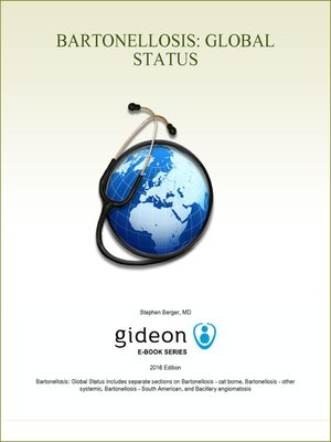 cover image of Bartonellosis: Global Status