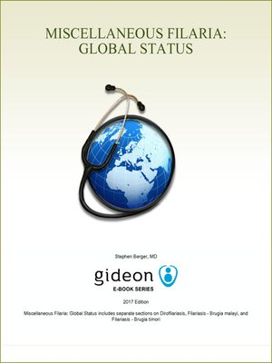 cover image of Miscellaneous Filaria: Global Status