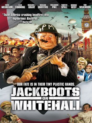 cover image of Jackboots on Whitehall