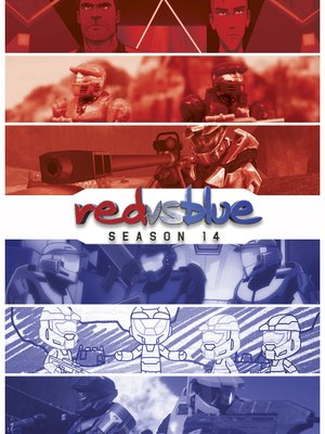 cover image of Red vs. Blue, Season 14