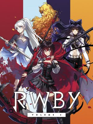 cover image of RWBY, Volume 4