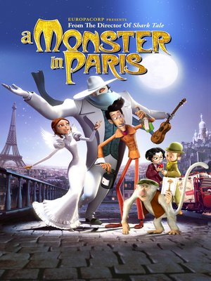cover image of A Monster in Paris