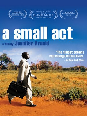cover image of A Small Act