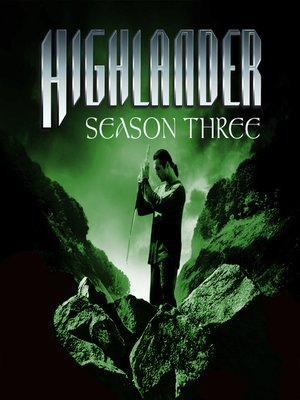 cover image of Highlander, Season 3