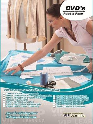 cover image of Diseño y confeccion de Vestimenta (Clothing design and Making)