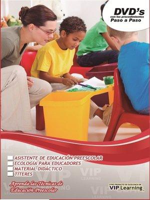cover image of Asistente de Educacion Preescolar 8
