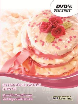 cover image of decoracion de Pasteles 3