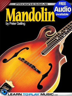 cover image of Mandolin Lessons for Beginners