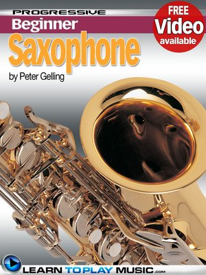 cover image of Saxophone Lessons for Beginners