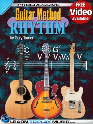 cover image of Rhythm Guitar Lessons for Beginners