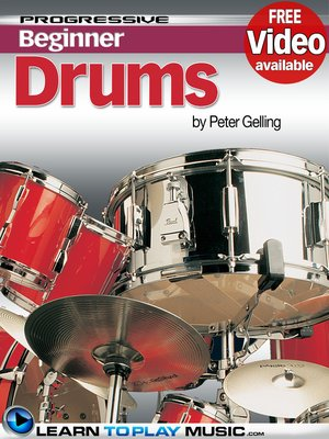 cover image of Drum Lessons for Beginners