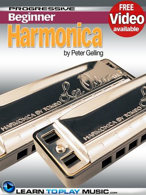 cover image of Harmonica Lessons for Beginners