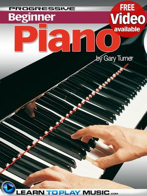 cover image of Piano Lessons for Beginners