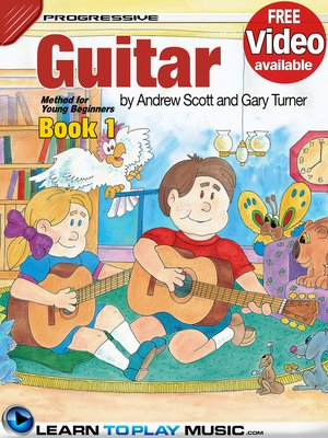 cover image of Guitar Lessons for Kids, Book 1