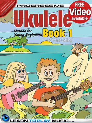 cover image of Ukulele Lessons for Kids, Book 1