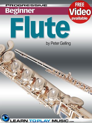 cover image of Flute Lessons for Beginners