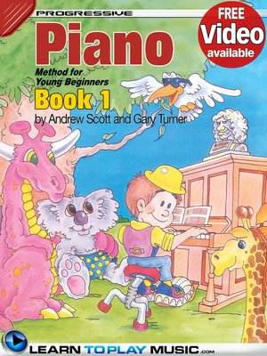 cover image of Piano Lessons for Kids, Book 1