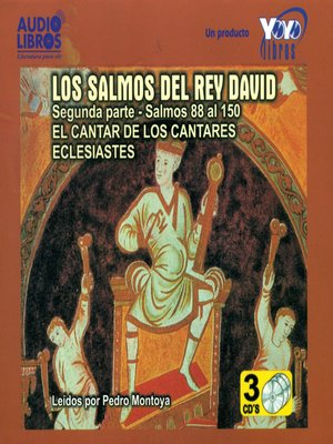 cover image of Los Salmos del Rey David 2